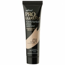 "Lifting Foundation with Hyaluronic Acid Tone 01 Porcelain ""Pro Luxury"""