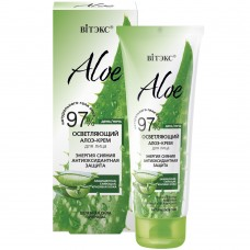 """Radiance Energy Antioxidant Lightening Aloe-Cream for face """"Aloe 97%"""" Vitex"""