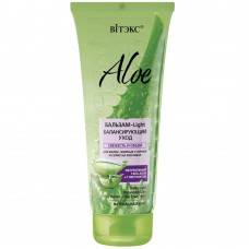 "Balm-Light Balancing Care for Oily Roots – Dry Ends Hair ""Aloe 97%"" Vitex"