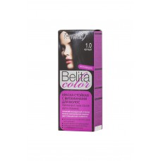 Permanent Hair Color with Vitamins 1.0 Black