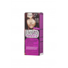 Permanent Hair Color with Vitamins 6.65 Garnet Red