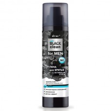 Shaving Foam with Active Charcoal 3-in-1