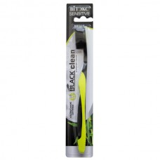 Toothbrush from Black Clean SOFT (Black and Green)