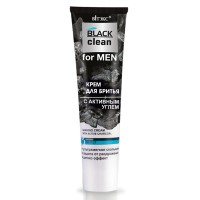 """Shaving Cream with Active Charcoal """"Black Clean for Men"""""""