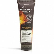 Nourishing Elixir 3-in-1 Hair Shampoo+Balm+Serum Argan Oil and Saffron