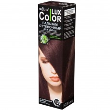 "Shade balm for hair ""COLOR LUX"" tone 12 / 100ml"