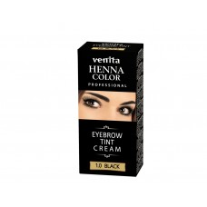 "Henna Color Professional Eyebrow Tint Cream Black ""Venita"""