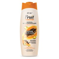 "Restoring Shampoo for Dry and Damaged Hair Papaya and Amla Oil ""Fruit Therapy"""