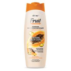 Restoring Shampoo for Dry and Damaged Hair Papaya and Amla Oil