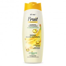 "Nourishing Shampoo for All Types of Hair Banana and Murumuru Butter ""Fruit Therapy"""
