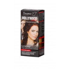 """Permanent Hair Color Cream """"Hollywood-Color"""" No. 382 Catherine Dark Chocolate Brown"""