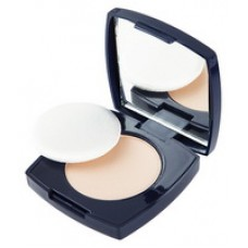 """Micronized Compact face Powder with Mirror and Sponge """"LUXURY"""" tone 727 dark beige"""