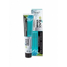 Toothpaste WHITENING+ STRENGTHENING EMALY with black activated carbon micro-particles and Dead Sea minerals / 85g
